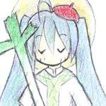 聖歌隊ミク(trionaPの常用アイコン)
