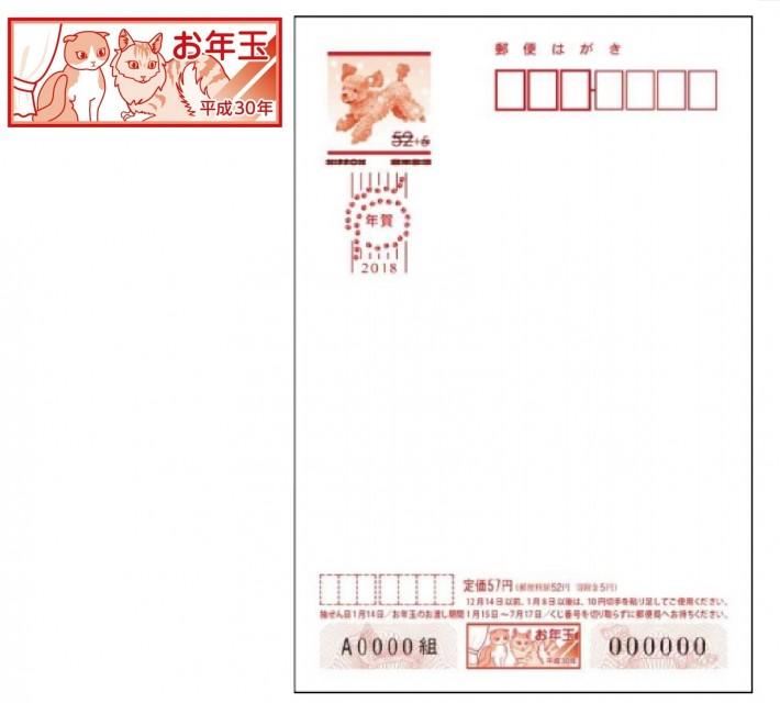 日本郵便「寄附金付絵入り年賀はがき」