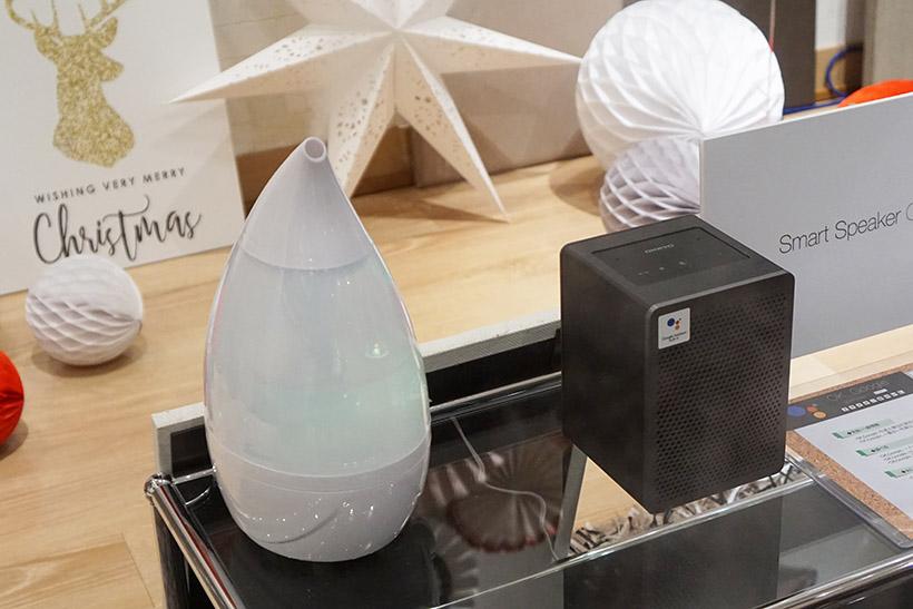 ↑G3はGoogle Homeに対応したほかの家電や照明などと連携することも可能
