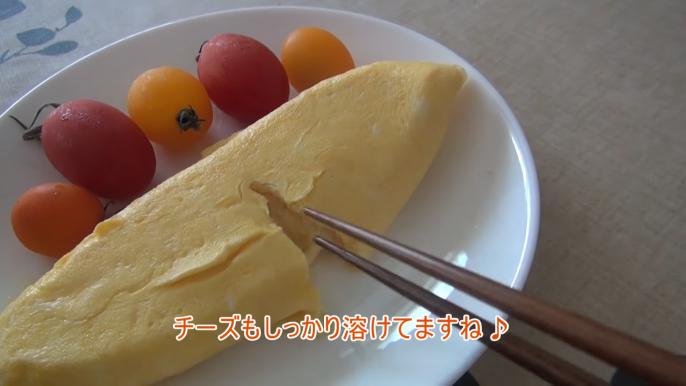 チーズがしっかりとろけてる!