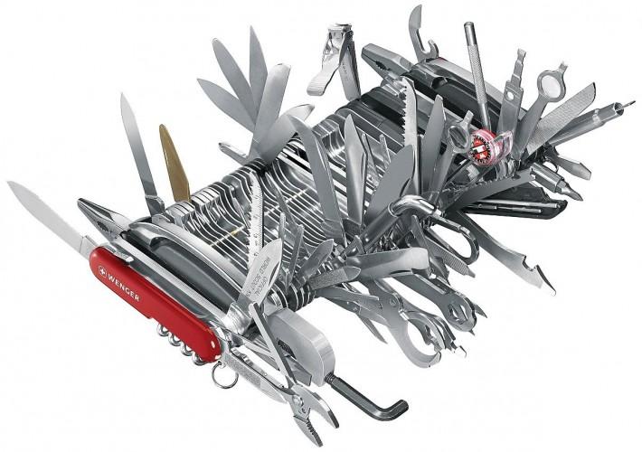Wenger 16999 Swiss Army Knife Giant/Amazon