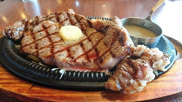 ステーキ食べたい。