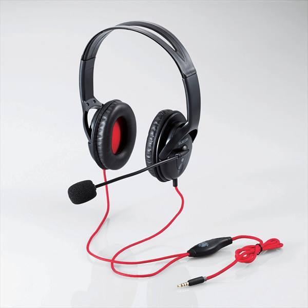 ↑ステレオタイプヘッドホン「HS-MHW02BK」。想定実売価格は2780円