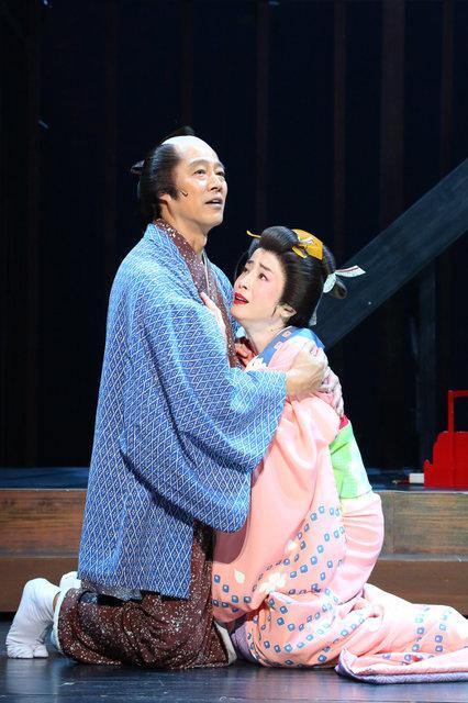 『近松心中物語』舞台写真_5