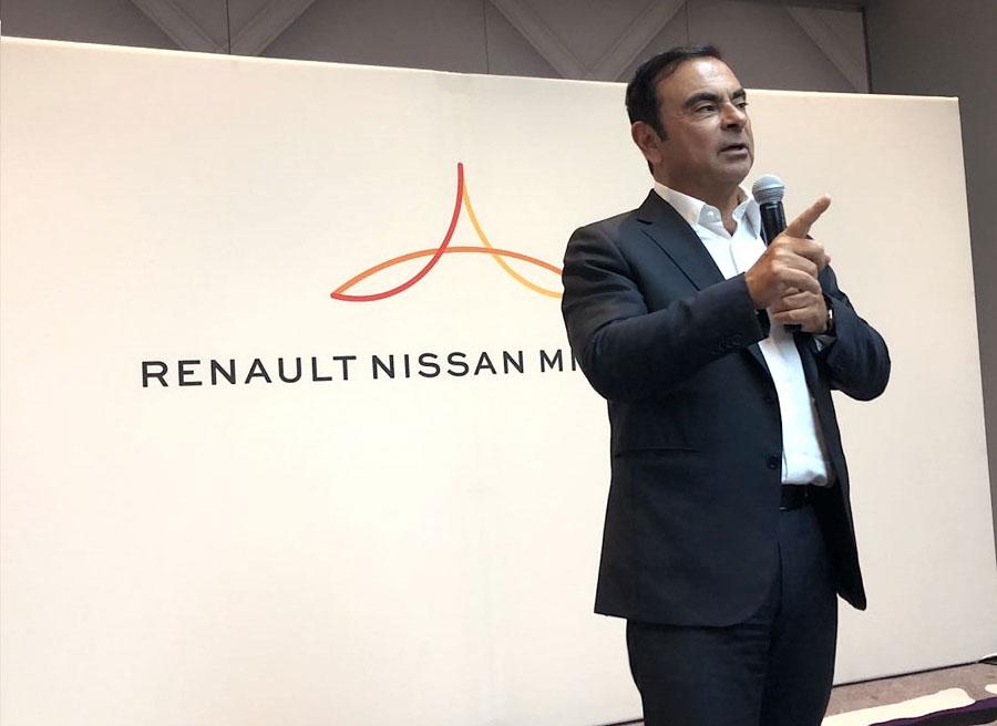 ルノー、日産自動車、三菱自動車、ベンチャーキャピタルファンドを設立し、5年間で最大10億ドルを投資 カルロス・ゴーン氏