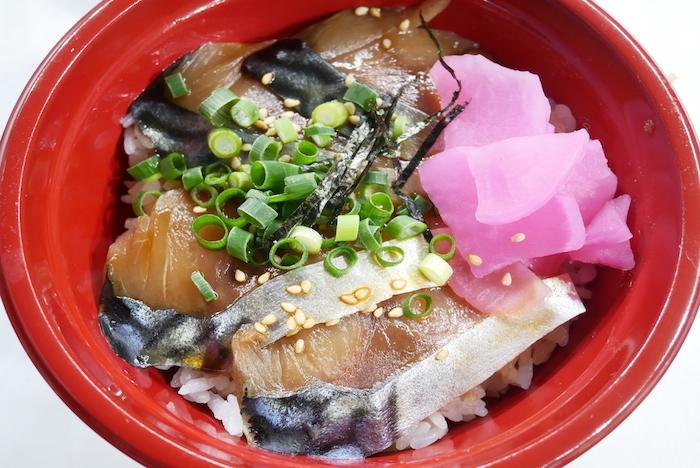 八戸銀サバトロづけ丼(青森県)