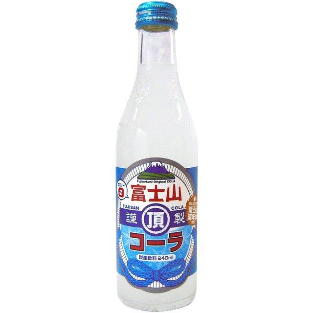 Amazon | 木村飲料 富士山頂コーラ 240ml×20本 | 炭酸飲料 通販 (150240)