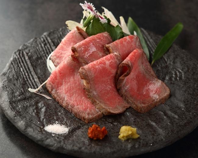 神戸牛のローストビーフ 2,700円(税込)