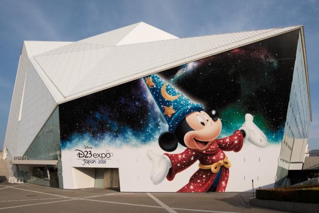 舞浜アンフィシアター外観 (C)Disney