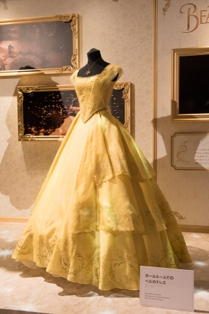 『美女と野獣(2017年)』ベルのドレス (C)Disney