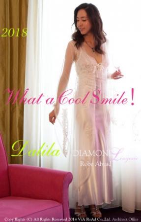 『 2018 What a Cool Smile!』RobeAbyad Diamond Lingerie Dalila