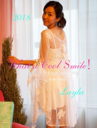 『 2018 What a Cool Smile!』RobeAbyad Diamond Lingerie Layla
