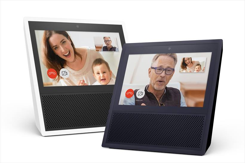 ↑Amazonが発売している「Amazon Echo Show」
