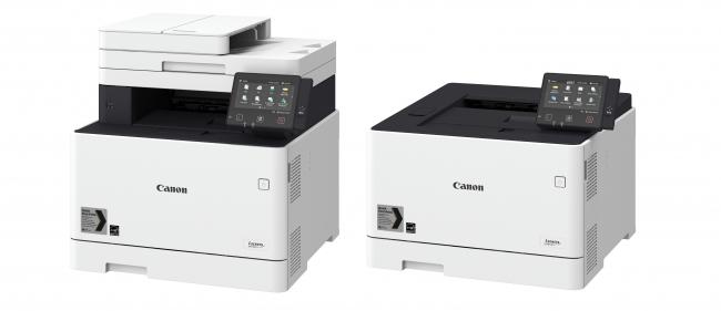 i-SENSYS MF730/630シリーズ(※3)(レーザー複合機)i-SENSYS LBP650/610シリーズ(※4)(レーザープリンター)*写真は左から i-SENSYS MF735Cx/i-SENSYS LBP654Cx