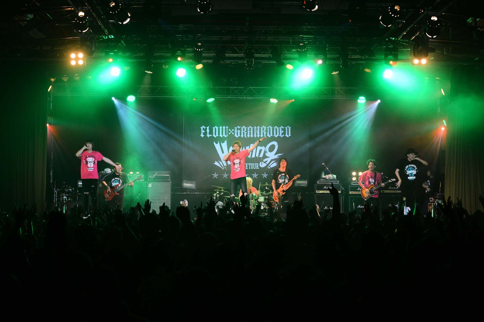 "FLOW×GRANRODEO 1st LIVE TOUR ""Howling"" in Taiwan 撮影:Mr.Chen"