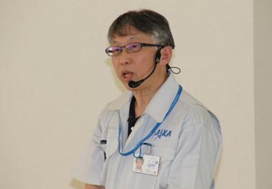 JAXA講師 清水さん