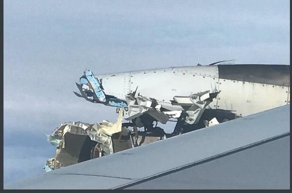 乗客真っ青!エールフランス、空中で「エンジン」吹き飛ぶトラブルが発生