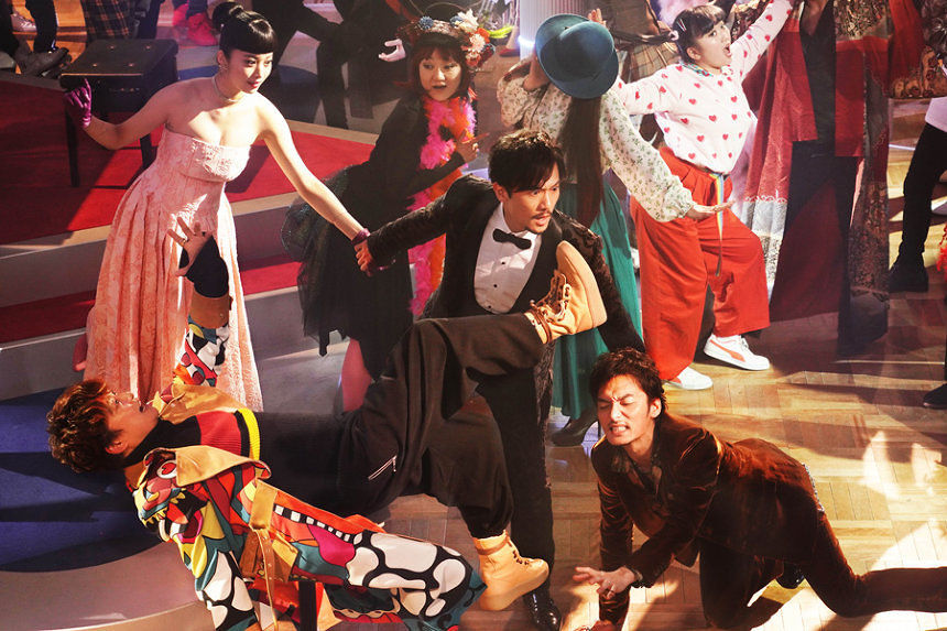 香取慎吾&草彅剛&稲垣吾郎『クソ野郎』予告編、ラストはミュージカルに