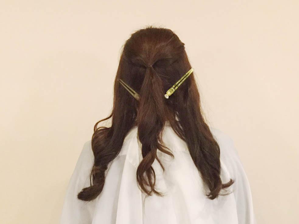 どんな髪質の人でもオシャレになる!! 外国人風編み込みアレンジの作り方を解説!1