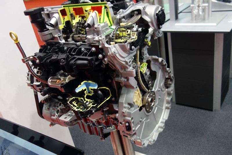 東京モーターショー2017 シェフラー 48Vユニット カットモデル