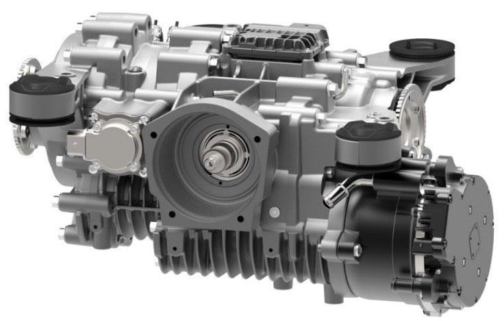 東京モーターショー2017 シェフラー・ハイパフォーマンス48Vシステム