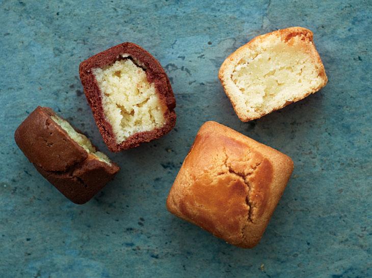 プレーン(右)とショコラ(左)の2種類があります