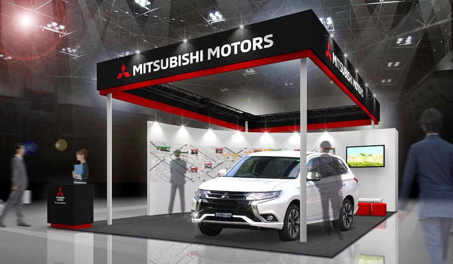 三菱自動車 エコプロ2017〜環境とエネルギーの未来展 [第19回]に出展 ブースイメージ