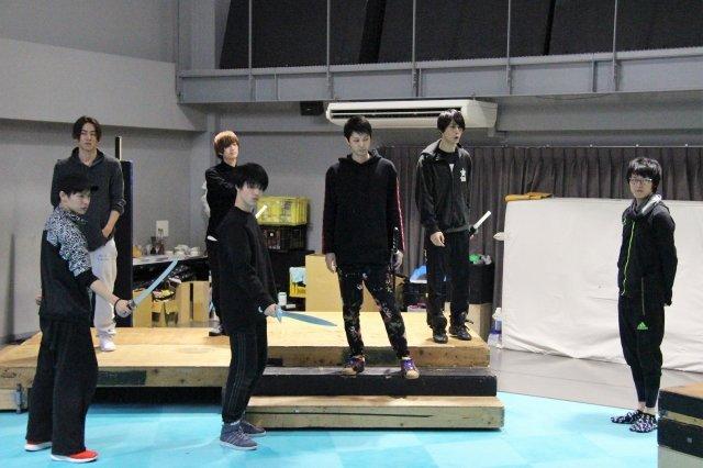『イケメン革命◆アリスと恋の魔法 THE STAGE』稽古場写真_8