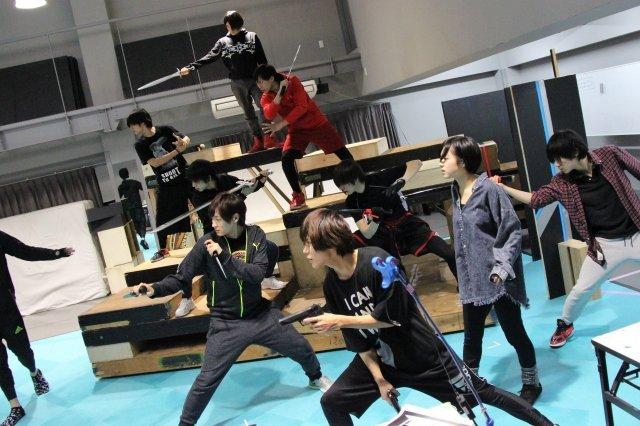 『イケメン革命◆アリスと恋の魔法 THE STAGE』稽古場写真_18