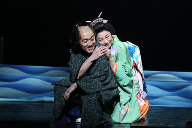 『近松心中物語』舞台写真_3