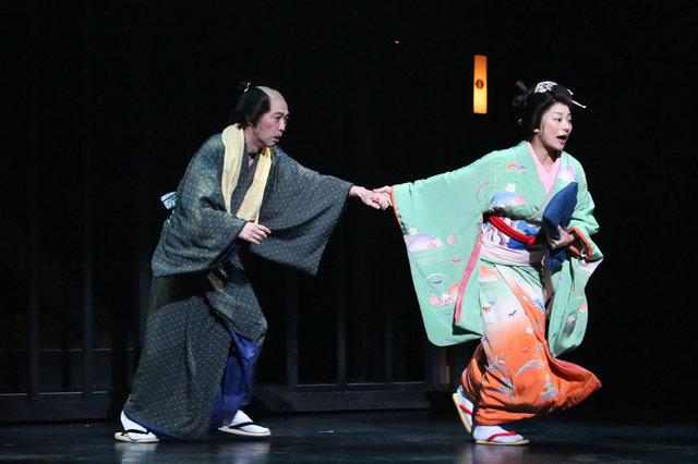 『近松心中物語』舞台写真_2