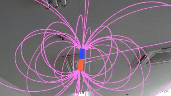 中学理科の壁「磁場」を可視化!HoloLensを活用した試みが公開 | Mogura VR