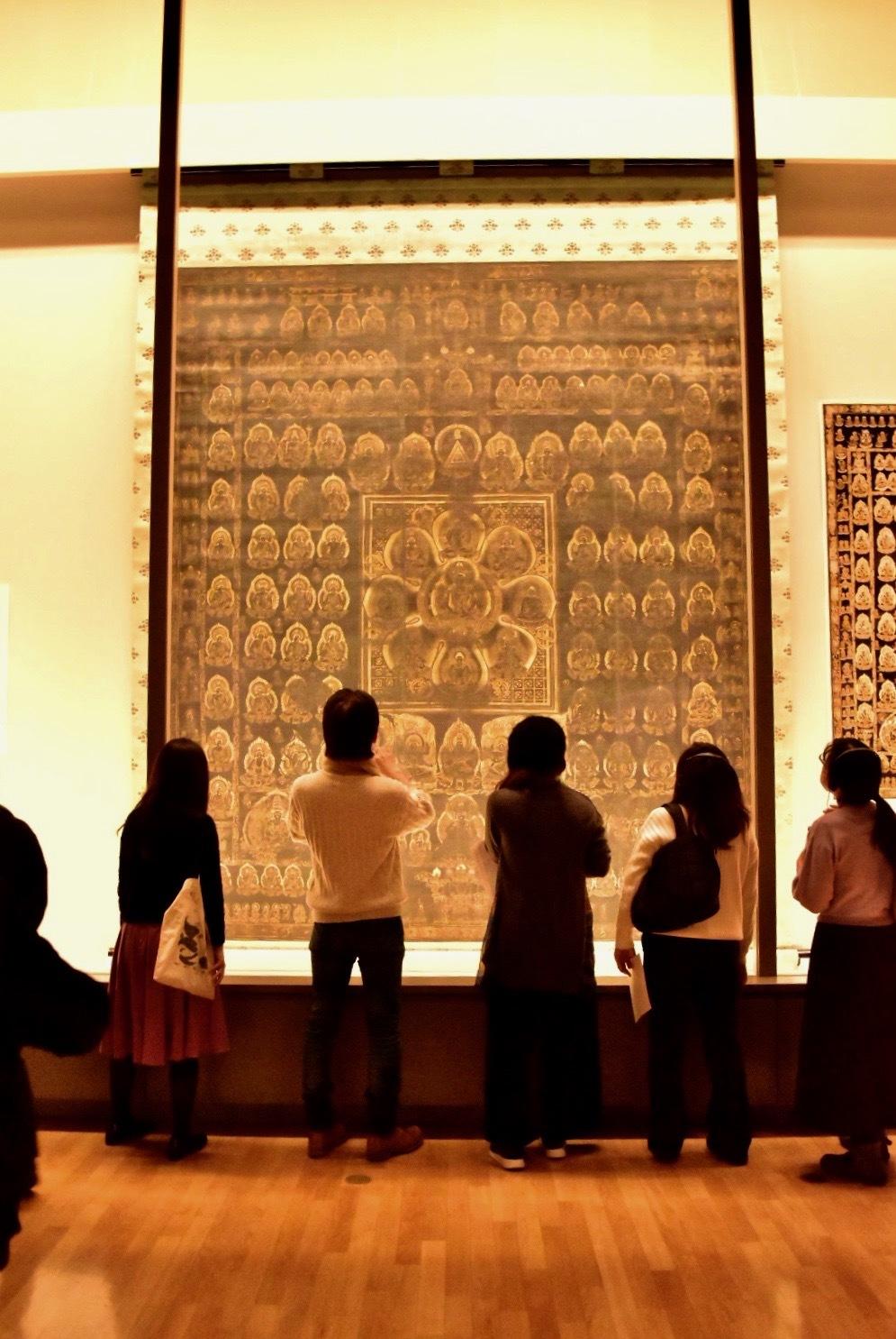 国宝 両界曼荼羅(子島曼荼羅)※前期(2月12日まで):胎蔵界 平安時代 10〜11世紀 奈良・子島寺