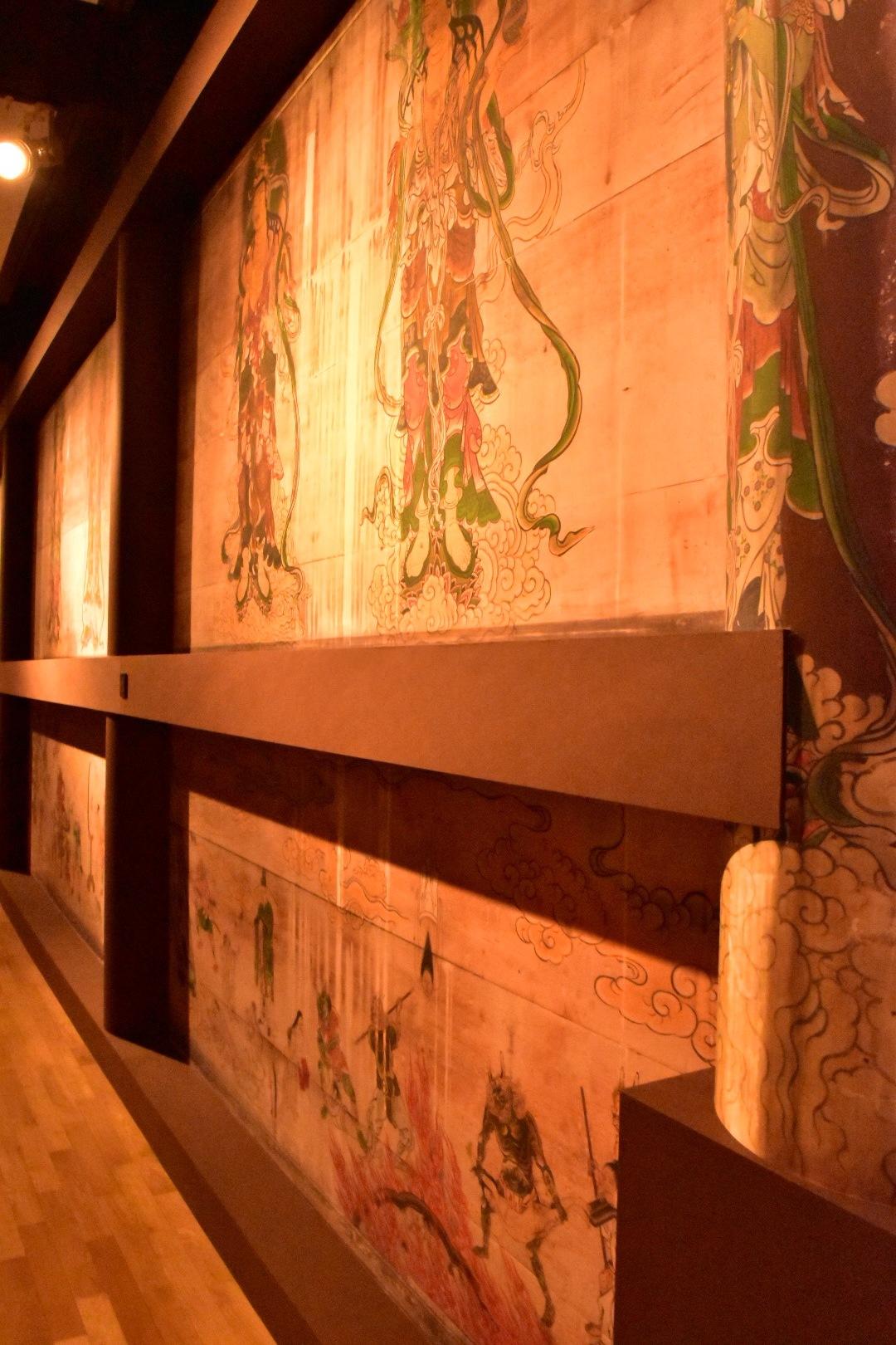 仁和寺 観音堂 壁画の再現