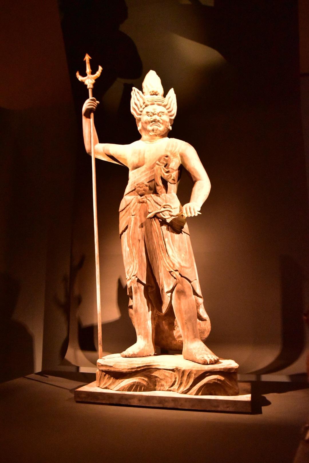 重要文化財 深沙大将立像 平安時代 11世紀 福井・明通寺