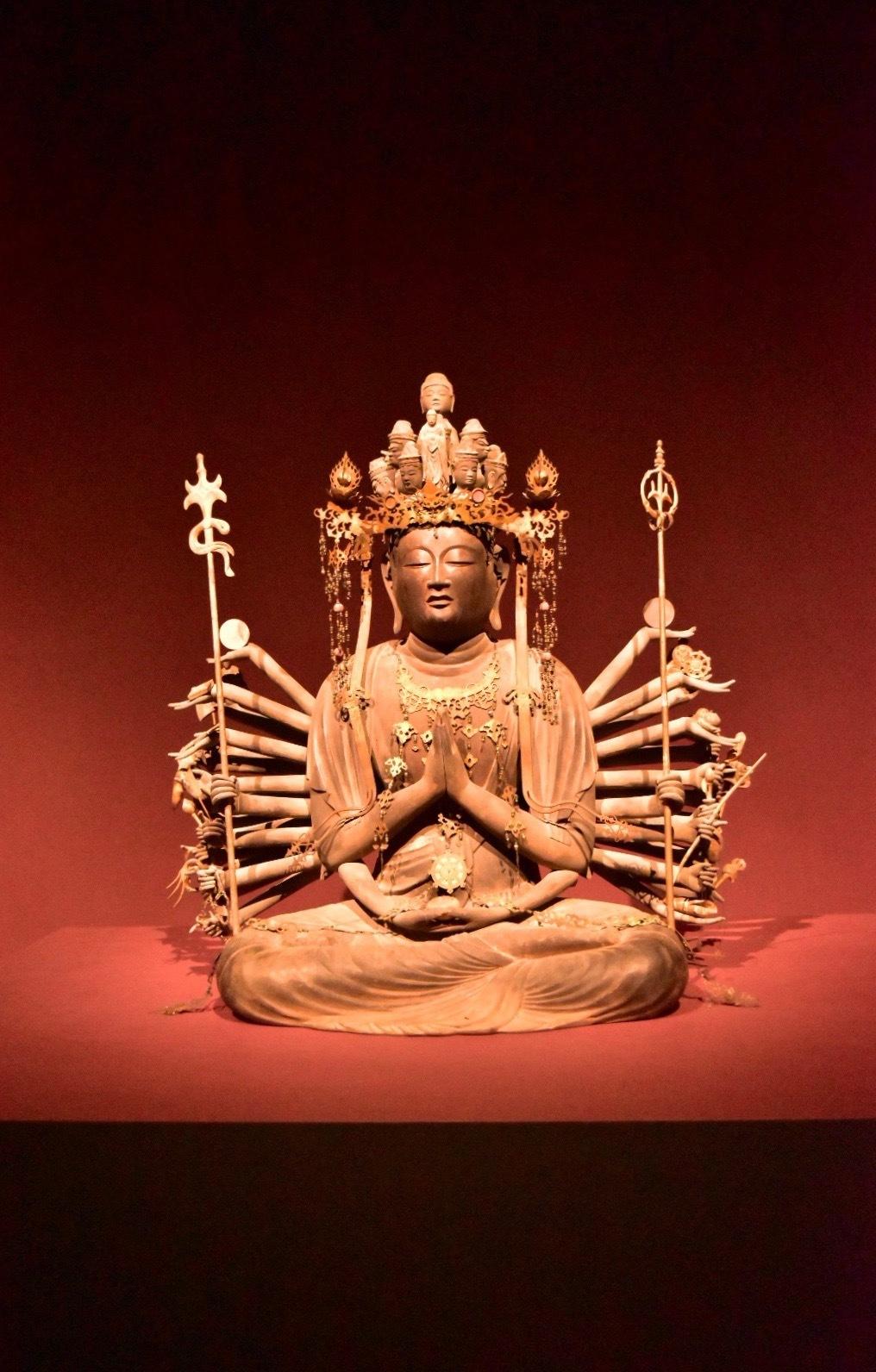重要文化財 千手観音菩薩坐像 経尋作 平安時代 12世紀 徳島・雲辺寺