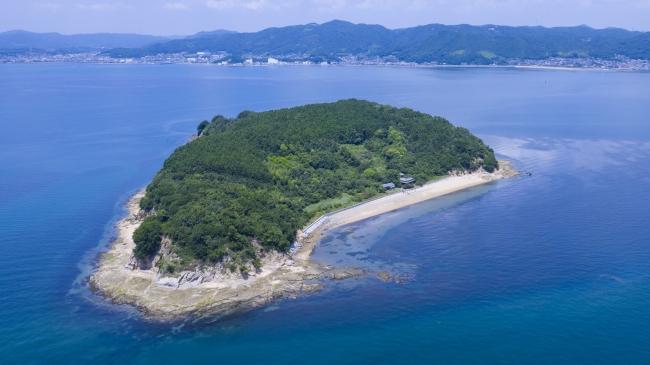 くじら島全景