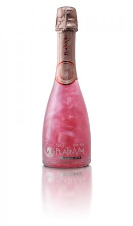 ラメ入りスパークリングワイン プラチナムフレグランス