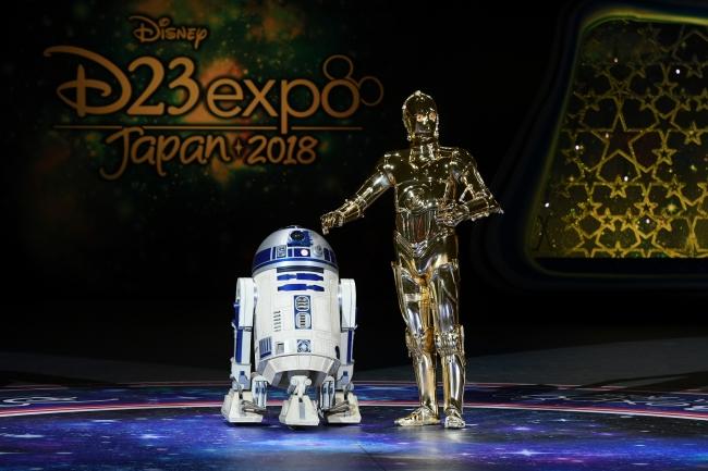 「ルーカスフィルムとマーベル・スタジオ」 に登場したC-3POとR2-D2 (C) & (TM) Lucasfilm Ltd.