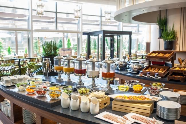 洋食ブッフェ朝食イメージ