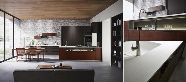 トクラスキッチン ベリー D888スリムフラット タイプ-X 2550mm/1,523,900円(税込)~
