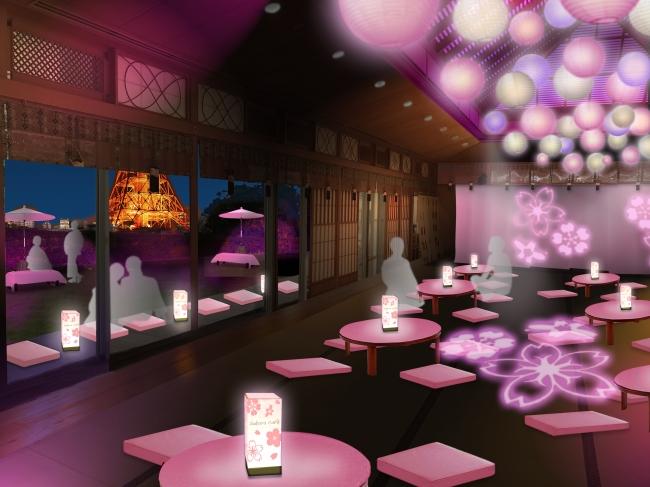 SAKURA CAFE店内イメージ