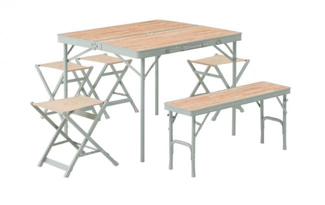 LOGOS Life ベンチテーブルセット6