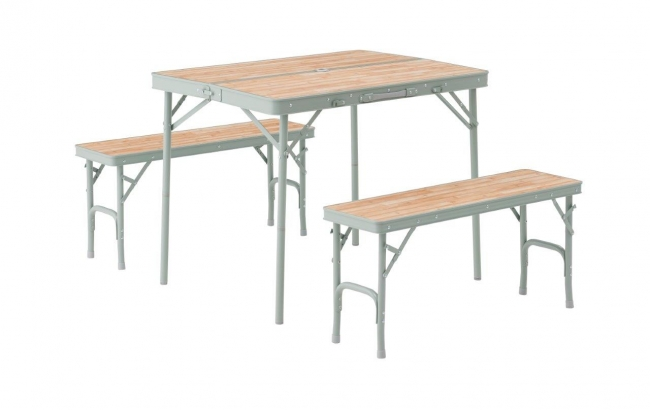 LOGOS Life ベンチテーブルセット4