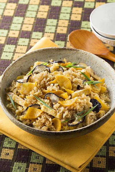 漬物のおすすめアレンジレシピ「福神漬とオクラのわさび麺」/やまう