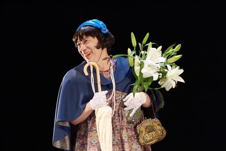 『妄ソーセキ劇場』より、『明暗』の吉川夫人。