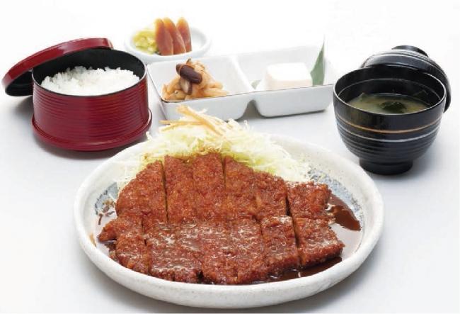 わらじとんかつ御膳 定食:1800円(税別) 単品:1200円(税別)