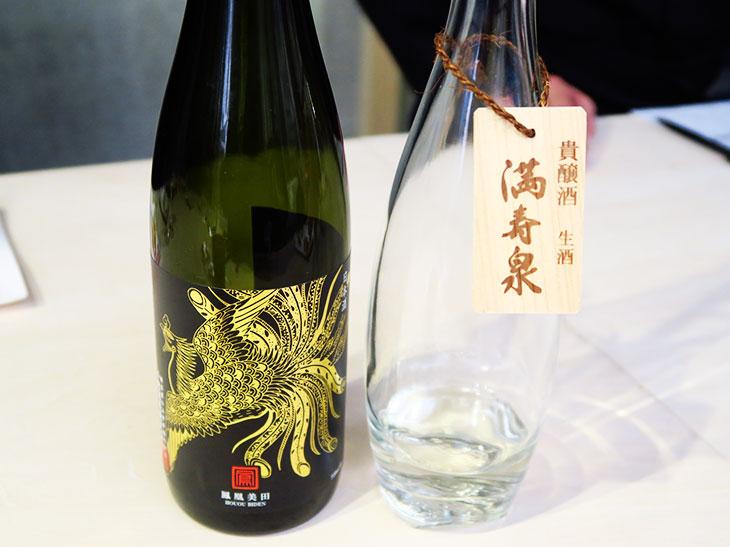 「鳳凰美田」は栃木県の小林酒造の吟醸酒で、甘い味わいの出やすい酒米「愛山」という酒米を100%使用している
