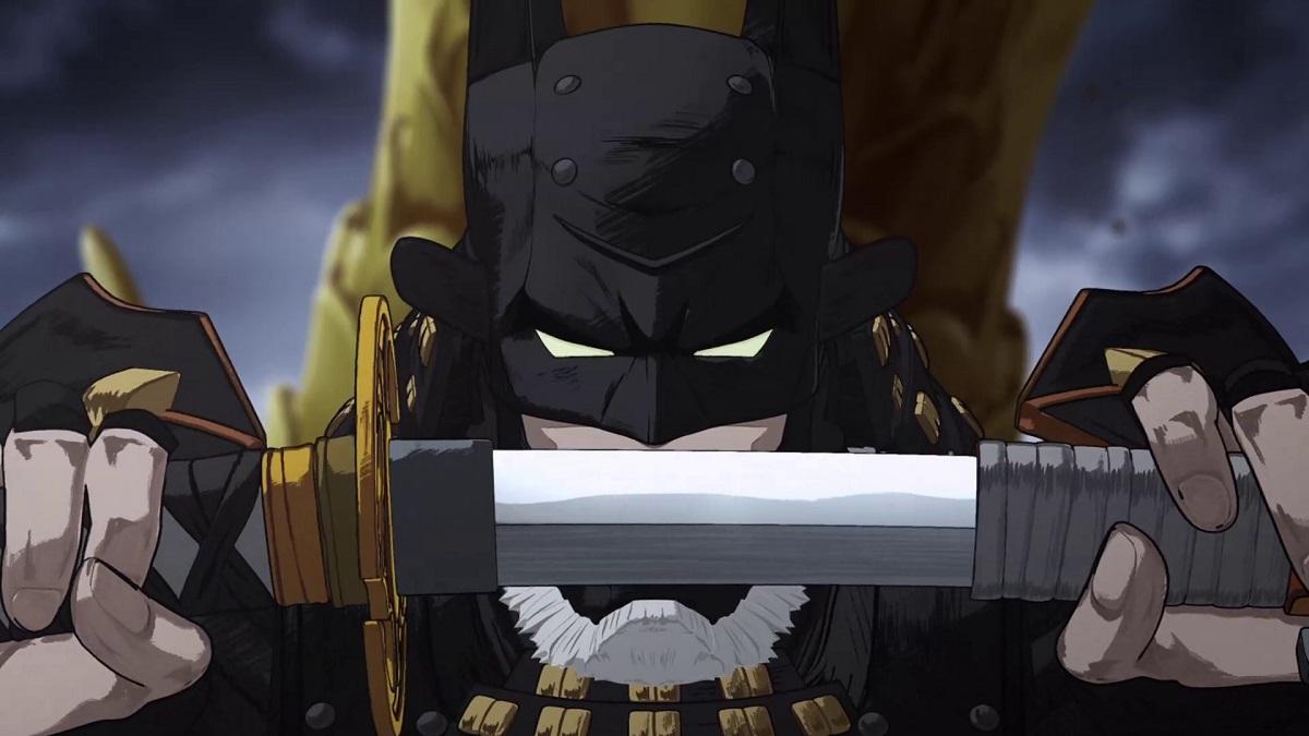 ニンジャバットマンと太刀の壁紙
