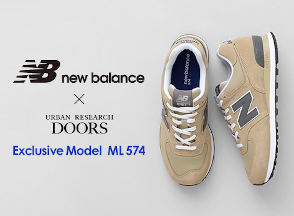 new balance(ニューバランス) × URBAN RESEARCH DOORS(アーバンリサーチ ドアーズ)「ML574」